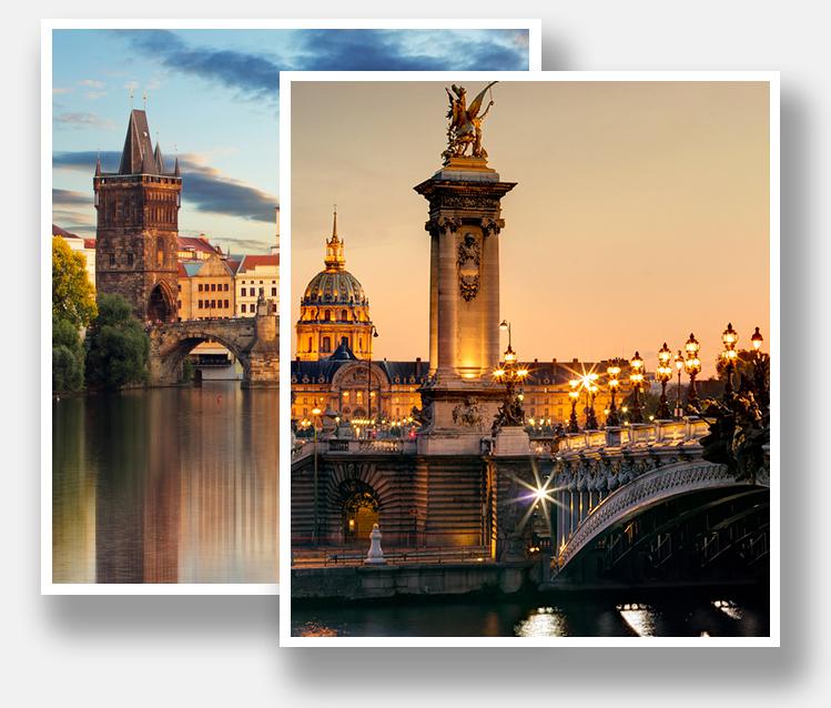 destinations d'Europe